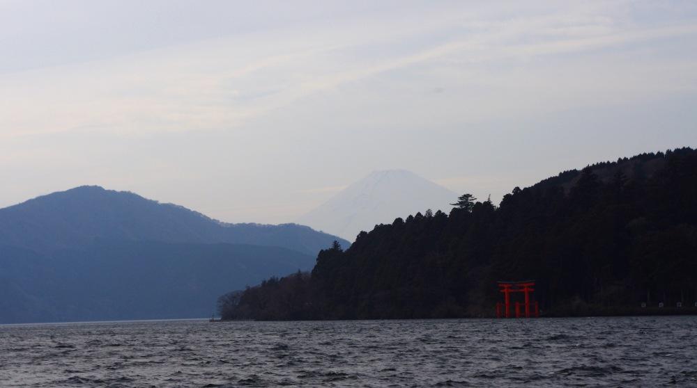 Fuji-san seen from Hakone